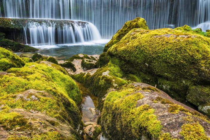Areuse Wasserfall Neuenburg