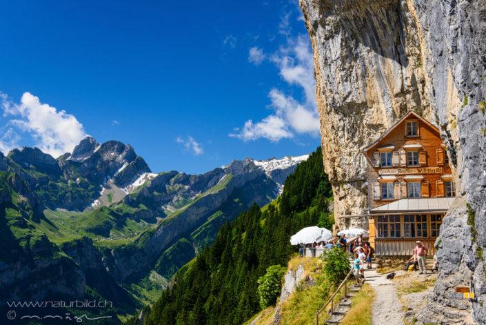 Aescher Appenzell Alpstein