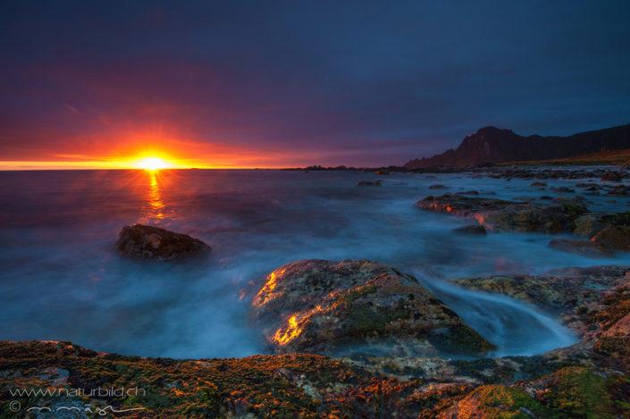 Andoya Nordeuropa Sonne