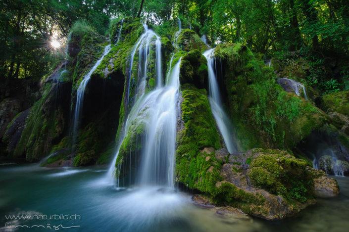 Cascade des Planches près d'Arbois Suedeuropa Wasserfall