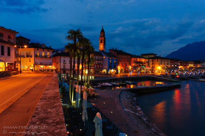 Tessin Ascona Piazza