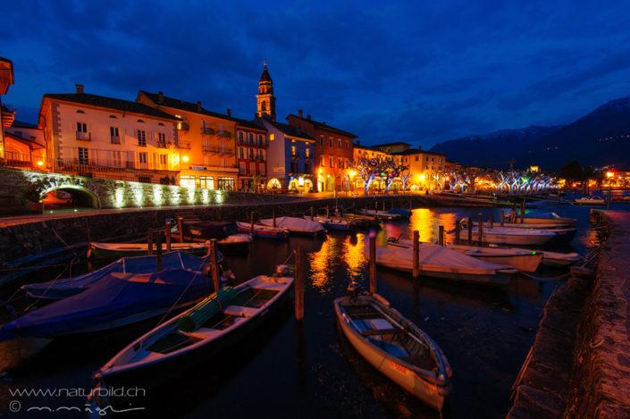 Tessin Ascona Abend