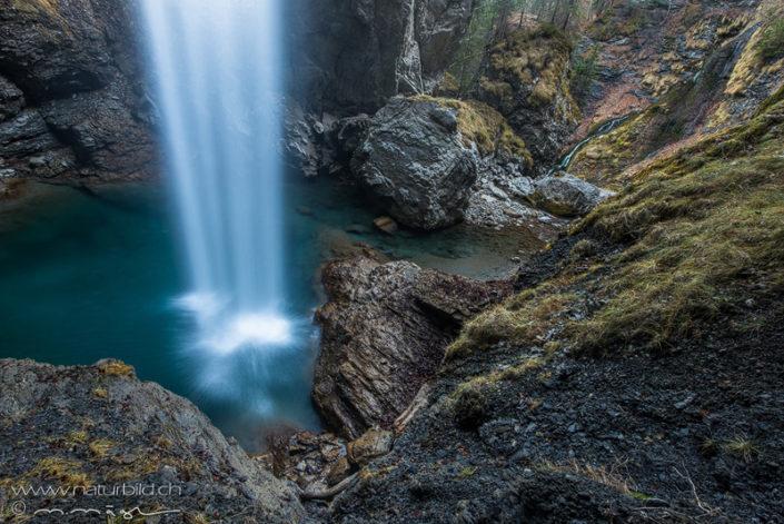 Berglistüber Glarus Wasserfall