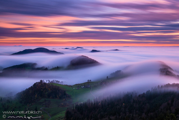 Belchenfluh Basel Nebel