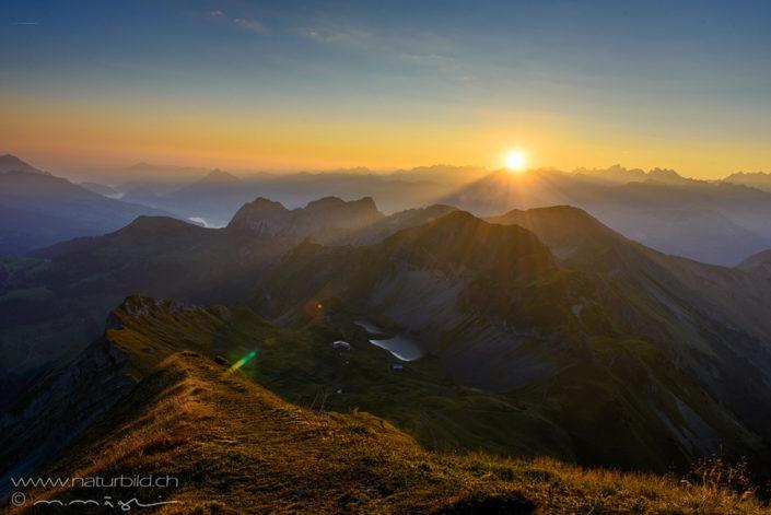 Luzern Rothorn Sonnenaufgang