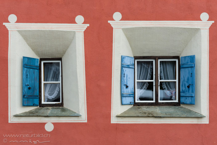Engadin Haus Fenster