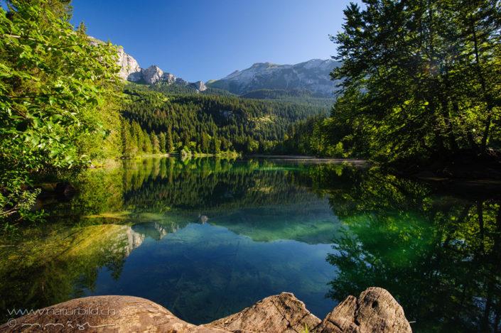 Crestasee Graubünden Flims