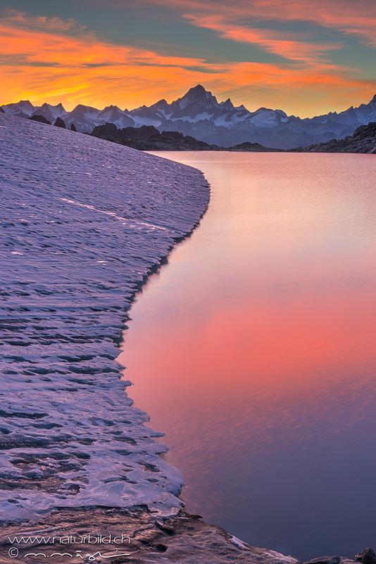 Tessin Gerenpass Gletschersee