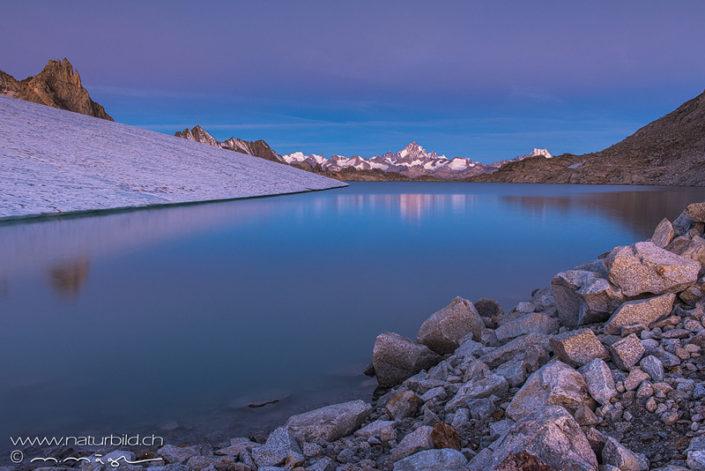 Gletschersee Gerenpass Bergsee