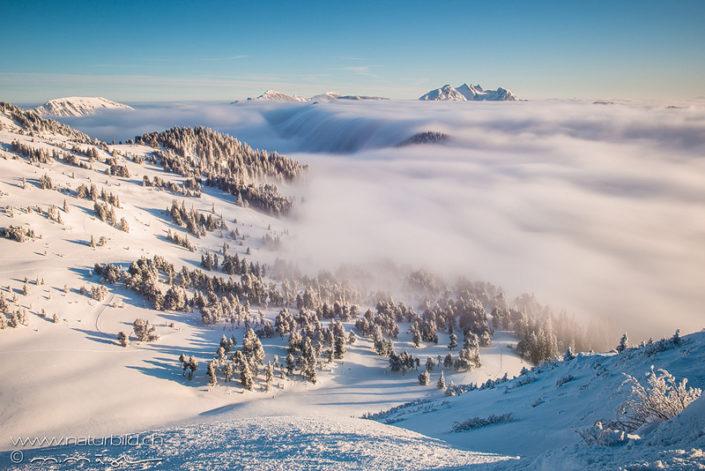Glaubenberg Kaltbad Schwendi Winter