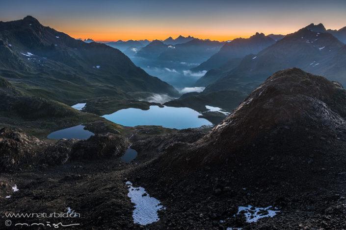 Jörisee Graubünden Berge