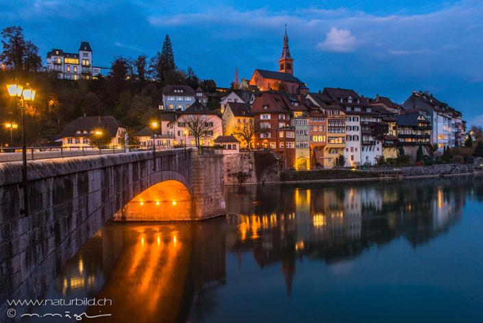 Laufenburg Stadt Nacht
