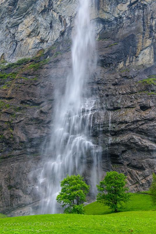 Staubbachfall Lauterbrunnen Wasserfall