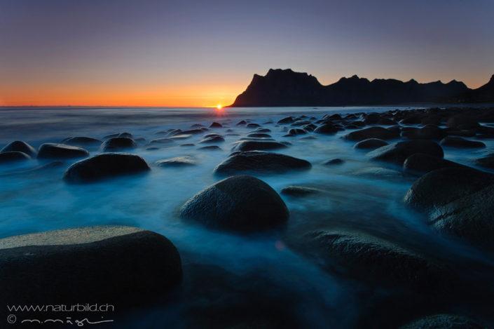 Lofoten Meer Steine