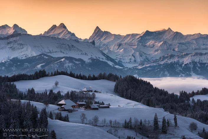 Emmental Alpen Bauernhof