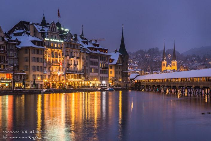 Luzern Stadt Winter