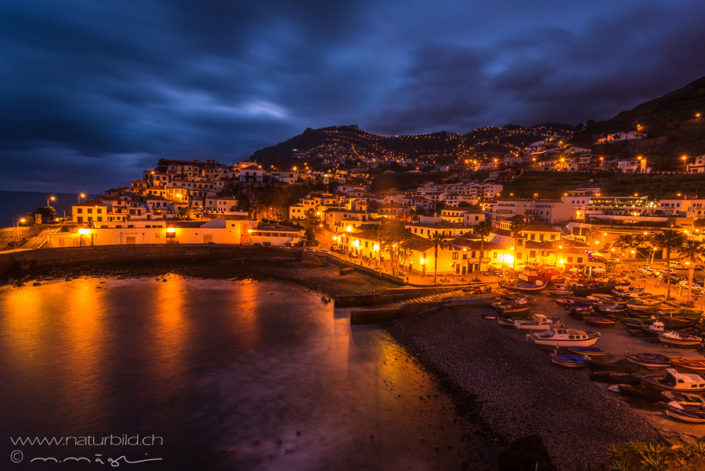 Camara de Lobos by Night Madeira