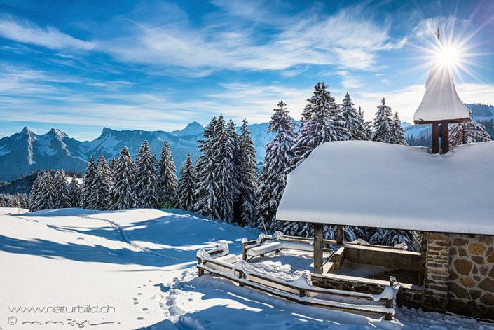 Kapelle Winter Moleson
