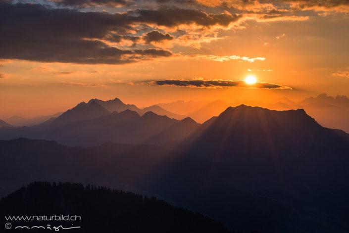 Augstmatthorn Sonnenaufgang Stimmung