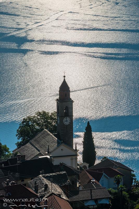 Tessin Ronco Kirche