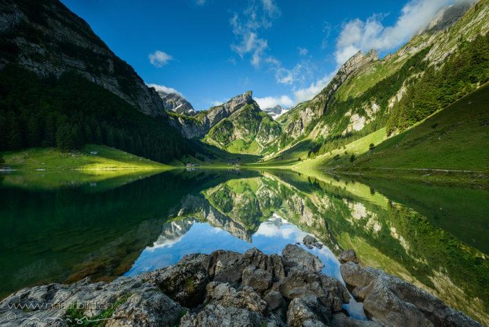 Seealpsee Appenzell Alpstein