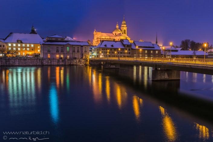 Stadt Solothurn Nacht