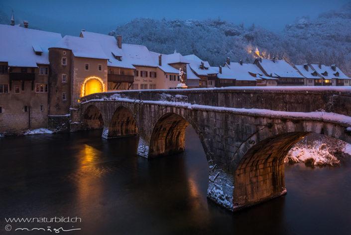 St Ursanne Brücke Jura