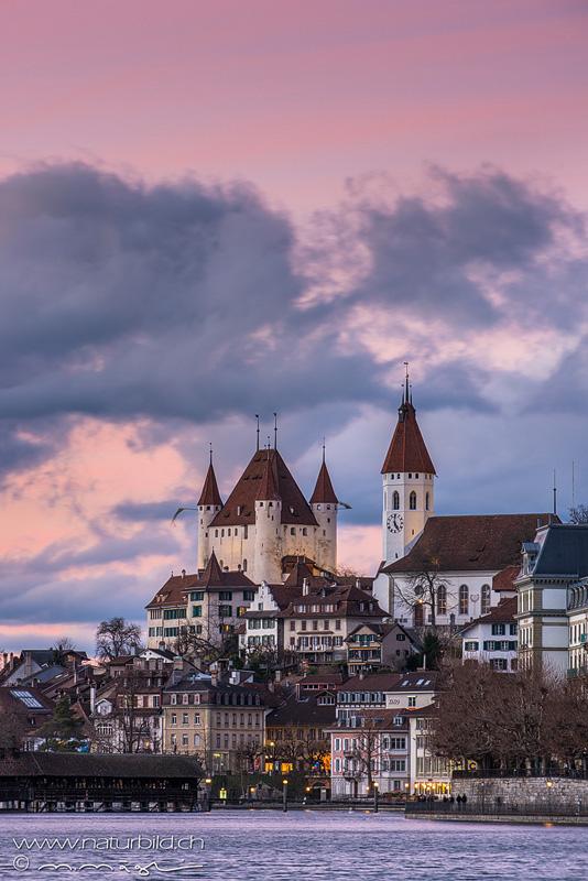 Thun Schloss Stadt