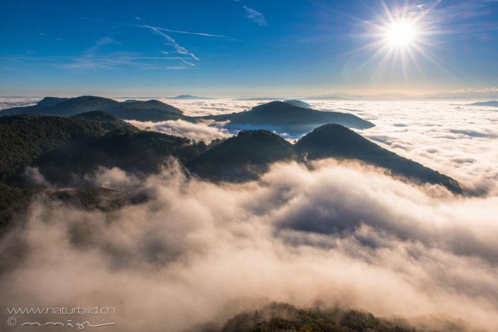 Wasserfluh Nebel Aargau