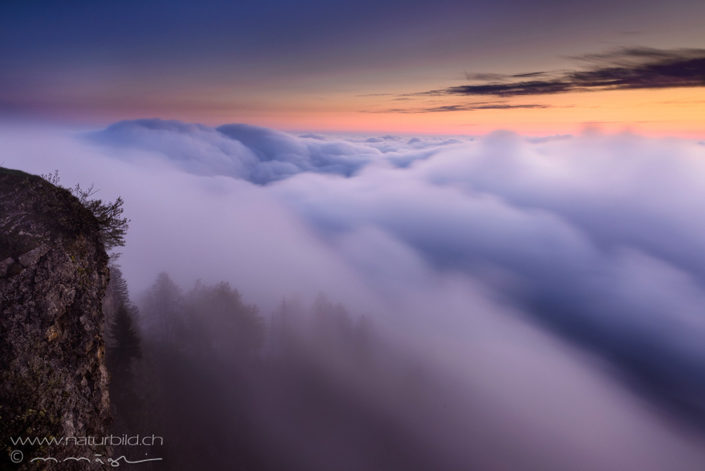 Weissenstein Nebel Jura