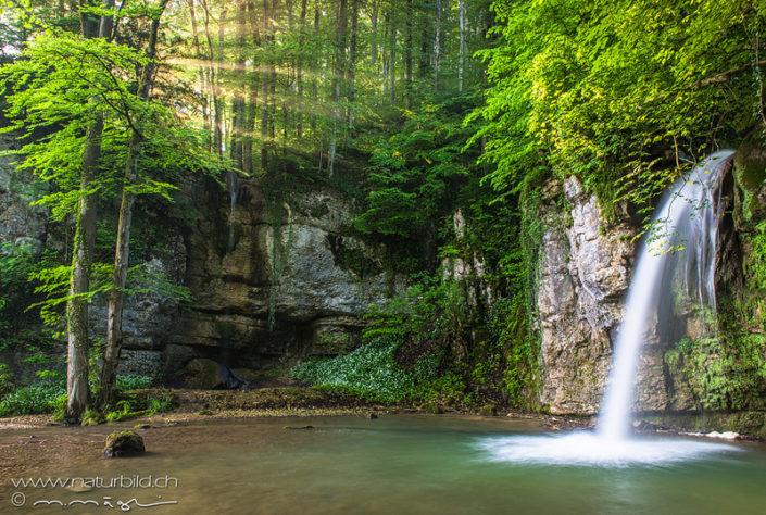 Wasserfall Basel Giessen