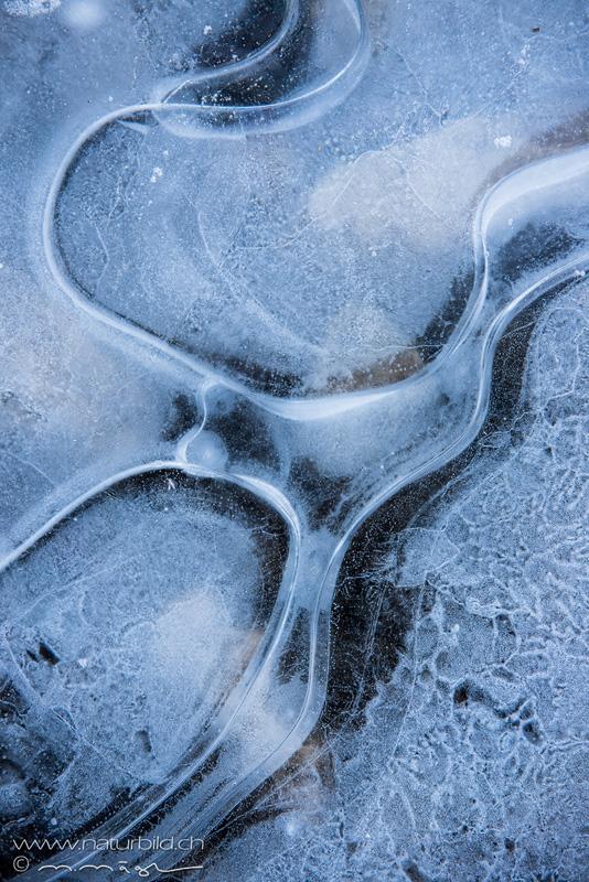 Eis Details Wellen