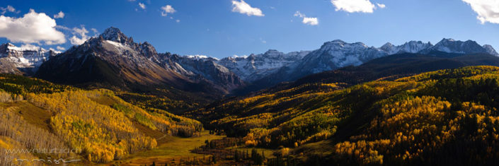 Panorama Colorado Herbst