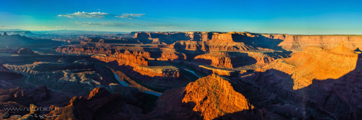 Panorama Deadhorsepoint Sonnenuntergang