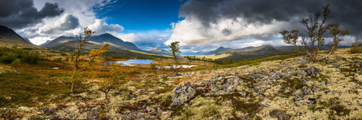Panorama Rondane Wildnis Steppe