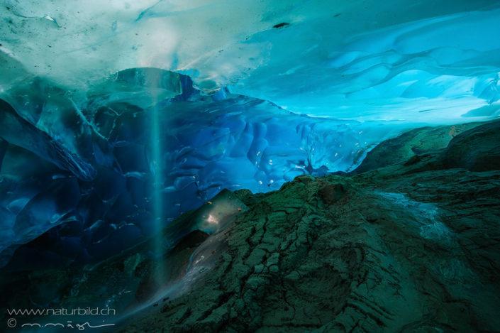 Aletsch Gletscher Höhle