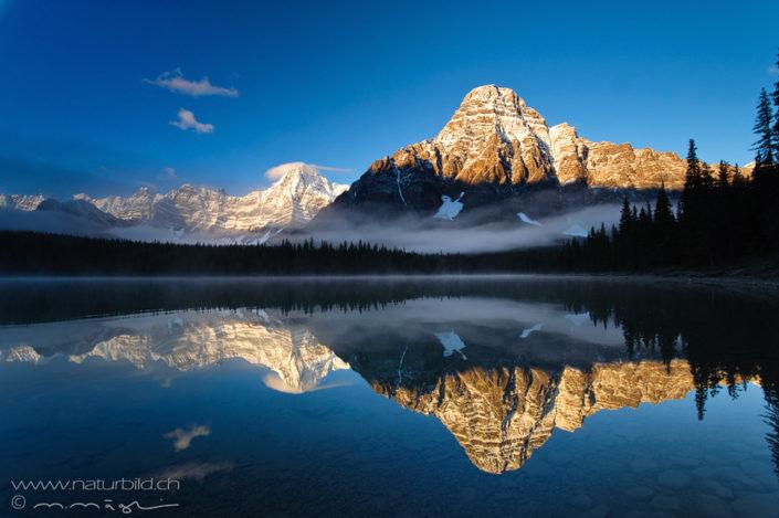 Kanada Banff Bergsee