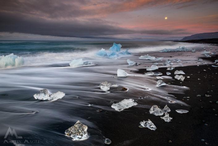 Iceland Strand Eis