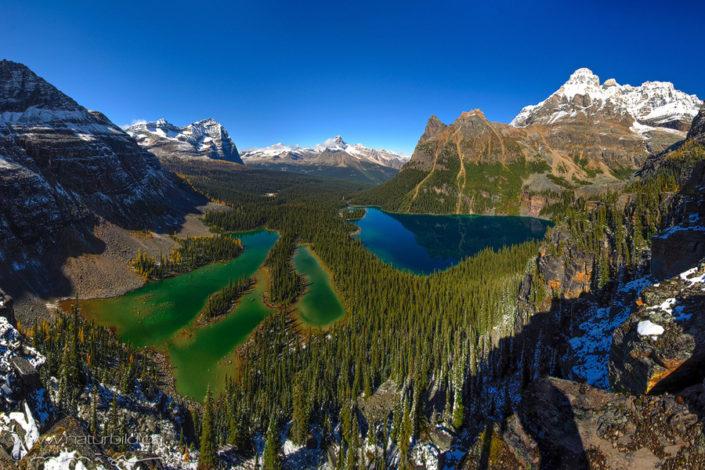 Kanada Yoho Nationalpark Bergseen