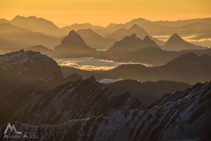 Säntis Alpstein Berge