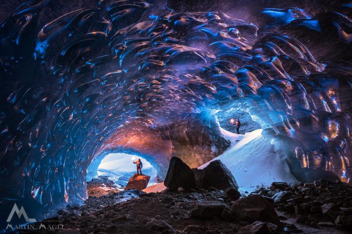 Eisgrotte Roseg Gletscherhöhle