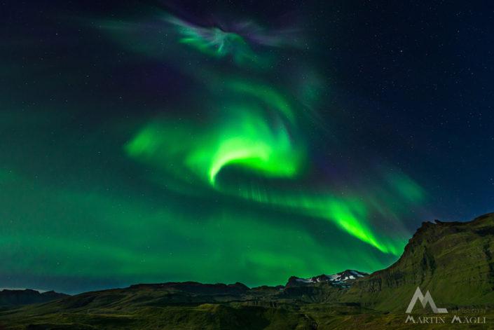 Aurora Polarlicht Iceland