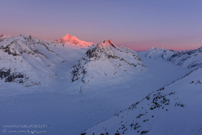 Wallis Aletsch Winter