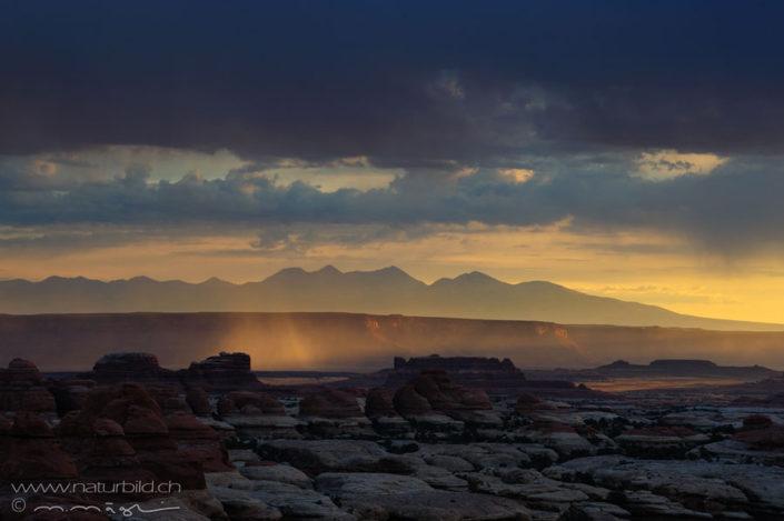 Canyonlands NP Nordamerika Stimmung