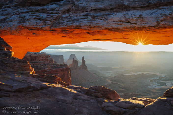 Mesa Arch Sonnenaufgang Utah