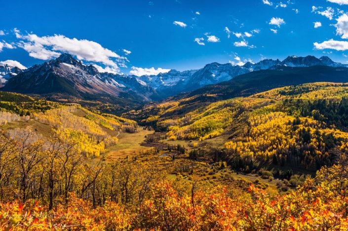 Colorado Herbst Ebene