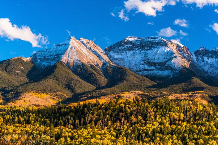 Colorado Schnee Berge