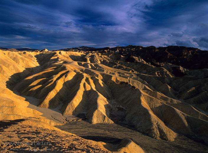 Deathvalley Sonnenuntergang Nordamerika
