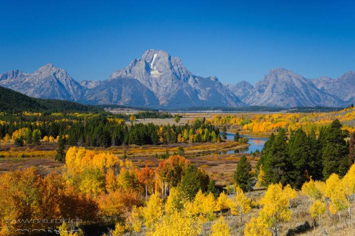 Grand Teton USA Ebene