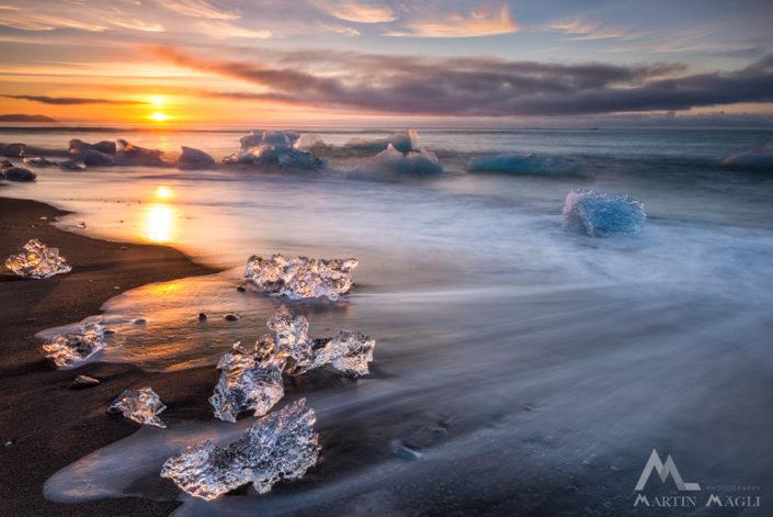 Island Sonnenaufgang